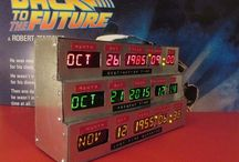 My 2015 Back to the Future Birthday Party! / This year, in celebration of the year Marty McFly travelled to the future, I'll be throwing a MEGA party for my October birthday. All 4 periods will be decorated and guests must come in costume from any one of them! Fun!