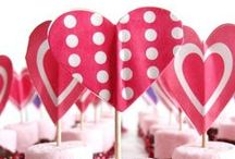 Be My Valentine! / If you love all things Valentine, you'll love these amazing ideas! For more party ideas, links to great deals and DIY inspiration, visit us at www.inspiredparties.weebly.com!