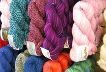 Yarn by Brand / A visual board of the yarns we have in store by brand. Click the pictures to see the colour choices. We may not have all colours currently in stock but try to carry a wide selection.