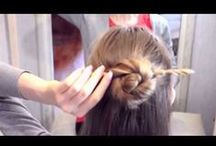 #Hairstyles / Messy, oomphing, elegant #hairstyles for all - kiddies, lovely ladies and handsome hunks