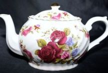 Teapots, Teacups, & Saucers / These are items I like.  Some of which are listed in my eBay store, Sassy's Shop.