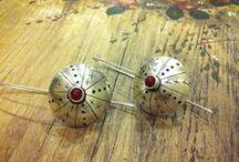 Earring / Handmade 925 silver