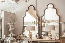 Mirror, Mirror... / Mirrors come in all shapes, sizes, styles and finishes making them the ideal statement piece for any room in the house. Take a look at a few of our favorite mirrors found on Pinterest to inspire your next redesign...