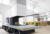 Modern Kitchens / The modern kitchen is sleek, clean and, best of all, highly functional. We've rounded up a few of our favorite kitchen spaces to inspire a modern redesign in your home. Take a look...