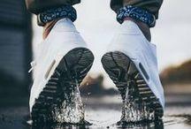 Sneakers on my feet