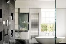 Luxurious Showers / For the amount of time we spend in our bathrooms, why not make it a luxurious experience? We've pinned a few stunning showers that are sure to make the bathroom your new favorite room. Take a look...