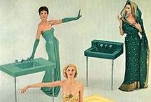 Vintage Plumbing Ads / We're crazy about these classic plumbing ads. Take a look at a few of our favorites featuring American Standard, Eljer, Delta Faucets and more...