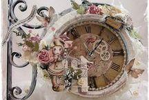 Dekorerte klokker