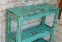 Wood Pallet/Crate Ideas
