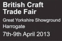 British Craft Trade Fair / I have applied to have a stand at the British Craft Trade Fair.  The trade fair will take place on the 7th-9th April in Harrogate. It will be the first large trade fair that I have taken part in so I will be in the Newcomers section, stand N61. So If you are going, come and say hello!
