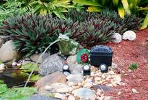 Pond Spitters and Accessories / Our collection of ornately handcrafted spitters and accessories that decorate and help you maintain your pond.