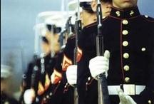 the brave men in uniform /  men in uniform melt my heart