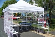 Craft Show Ideas / Anything to make displaying craft show items easier, more attractive and appealing.