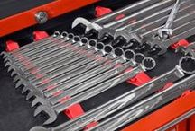 Tool Organization / American made products to organize all the tools in your garage.