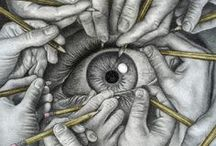 Drawings: Human eye