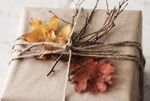 Verpackungsidee / Geschenke schön verpackt