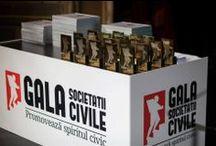 Gala Societății Civile / Fundatia Gala Societatii Civile promoveaza si premiaza activitatea sectorului non-profit din Romania