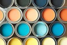 Farben für Möbel und Wände / Farbideen und Techniken