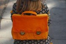 KIDS kleur: oranje / by DeesStyling