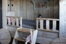Hoch- und Stockbetten für Kinder / Betten für Kinder