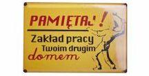 Magnesy na prezent / Magnesy retro, dodatki z plakatami propagandowymi i absurdami codzienności PRL.