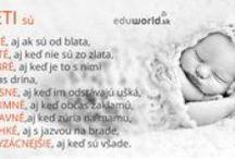 Citáty o deťoch a výchove / Rôzne citáty pre rodičov o deťoch a výchove, o zábave i starostiach v našom živote s deťmi, o sebarozvoji.