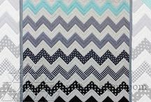I Love Chevrons / I love them in black and white or in different colours, they are always classy.