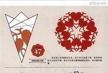 paper art / lace,