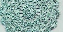 Crochê com gráficos / Peças de vestuário e decoração em crochet com gráfico