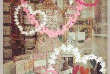 Valentine shop windows