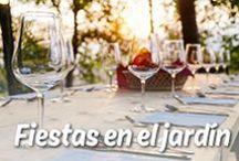 Fiestas en el jardín / ¿No sabes como organizar una fiesta original en aire libre? ¡Déjate inspirar por Mission Wraps!