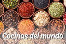 Cocinas del mundo / ¡Unas especias e ingredientes de los rincones más remotos del mundo! ¡Déjate inspirar por Mission Wraps!