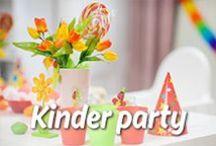 Kinder party / ¡Unas ideas de fiestas creativas para los pequeños! ¡Déjate inspirar por Mission Wraps!