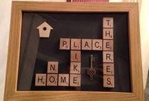 My Scrabble Art / Please like my facebook page ScrabbleartbyLeigh :-)