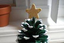 Je bricole pour Noël ! / DIY, bricolages, activités autour de Noël