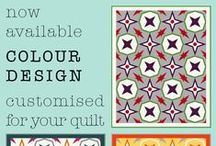 Colour Design by Stacey's Craft Designs / I have a new chapter on my website, it's called COLOUR DESIGN. With this service I offer custom colour design for your quilt. Would you like to create a quilt with your own customised colour combination, but you have trouble visualising how that quilt will look like? Than my 'COLOUR DESIGN -CUSTOMISED FOR YOUR QUILT' is the perfect solution for you. So if you're interested, go to http://staceyscraftdesigns.com/colour-design/ and read all about my great new service.