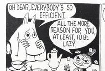 Moomin philosophy rocks