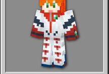 着替えクラフト-Minecraft character Skin- / Minecraft character Skin マインクラフトで使えるキャラスキンのピンです。全部自作!