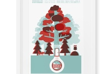 Suseł - branding / posters / illustrations / Illustrations for different clients and acassions