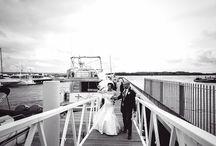 Weddings at Lake Yard / Stunning harbourside venue, the perfect wedding backdrop