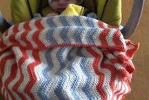 Babystuff. Www.babyhobby.dk / Hand knitting and crochet blankets. DIY www.babyhobby.dk