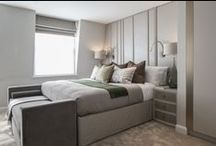 Roselind Wilson Design - Bedrooms / Bedrooms designed by luxury interior design studio Roselind Wilson Design