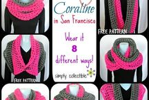 Scarf Shawl & Top / Crochet Scarves, Shawls and Tops