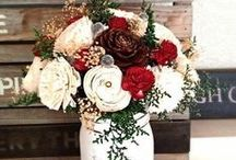 Winter Weddings / winter and holiday wedding ideas and inspiration