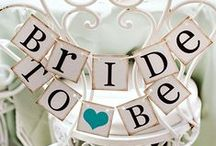 Bridal Showers / bridal shower inspiration. themes, décor, and food idea.