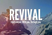 """* Revival * / A group board of people that want to share testimonies, scriptures and words of encouragement. This includes miracles, signs and wonders that The Holy Spirit does for those who are hungry for more of Jesus. To be a part of this board follow this board or comment on the """"Happy Pinning"""" pin. GBY Joel 2;28"""