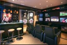 Man Cave / Inspirational for all your man cave needs. together we discover