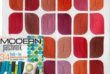 Quilt Patterns / Modern Quilts made using Aria Lane Quilt Patterns