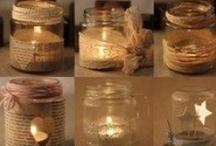 Lumières, bougies, etc...