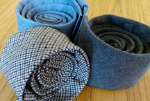 Neckwear / Quality handmade ties from our collection. Available at rail-river.com #menswear